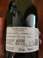 NICOLA GATTA ROSE' DE NOIRS EDIZIONE LIMITATA NATURE disp Sassicaia Krug selosse