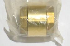 "1-1/4"" Inch NPT Pipe Female Threaded Brass Spring Check Valve Inline FPT One Way"