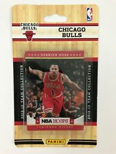 2012-13 Panini NBA Hoops Team Set Chicago Bulls (10 Cards) - Brand New