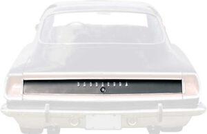 1969 Plymouth Barracuda Formula S Trunk Trim Finish Panel
