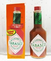 Tabasco Original Pepper Sauce 12 fl oz / 355 ml Hot and Spicy Fire  BFR
