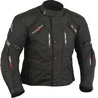 Blouson En Textile pour Homme, Veste Moto, Motard Veste En Textile,Biker Veste