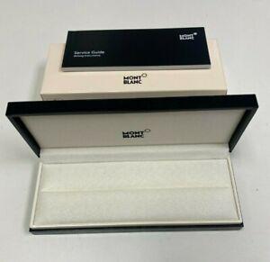 Mont Blanc pen box only - empty