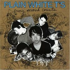 CD NEUF - PLAIN WHITE T'S - EVERY SECOND COUNTS - C5
