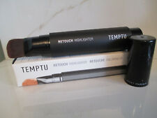 TEMPTU RETOUCH HIGHLIGHTER SOFT FOCUS FINISH 304 COPPER  .63 OZ BOXED