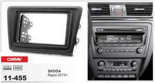 CARAV 11-455 2Din Marco Adaptador Radio Kit Instalacion SKODA Rapid 2013+