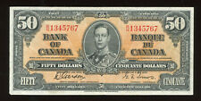 1937 Bank of Canada $50 - BC-26b - S/N: B/H1345767