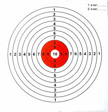Bulk Shooting Target Air Rifle targets  to suit 140mm Pellet Trap 100 Targets