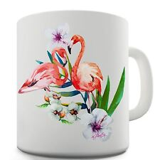 Twisted Envy Flamingo Paradise Garden Ceramic Tea Mug
