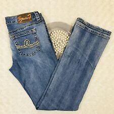 Melissa McCarthy Seven7 Womens Bootcut Jeans Size 8 - 32x31 Stretch Denim AR603