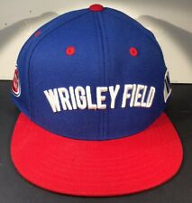 Wrigley Field Chicago Cubs Hat Cooperstown Collection SnapBack Adj.  NWOT