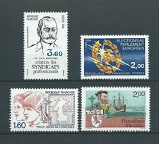 FRANCE - 1984 YT 2305 à 2308 - TIMBRES NEUFS** LUXE