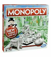 Monopoly Classic Board Game UK EDITION from Hasbro Gaming (Brand New) FREE POST
