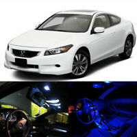 5 x LED Full Interior/License Lights Package For 2008-2012 Honda Accord Coupe