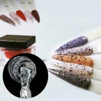 Nail Art Gel Color Polish Egg Shell UV LED Manicure Diy Black Varnish F3T7 Y4C6