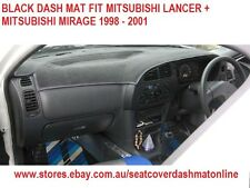 DASH MAT, BLACK DASHMAT MITSUBISHI LANCER + MITSUBISHI  MIRAGE 1998 - 2002,BLACK