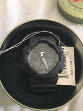 Mens Casio G-Shock Alarm Chronograph Watch GA-100-1A1ER RRP £110 Mint Condition