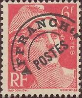"""FRANCE PREOBLITERE TIMBRE STAMP N° 100 """" TYPE MARIANNE 6F ROSE """" NEUF (x) TB"""