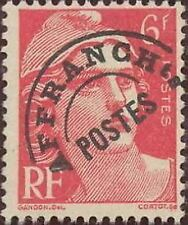 "FRANCE PREOBLITERE TIMBRE STAMP N° 100 "" TYPE MARIANNE 6F ROSE "" NEUF (x) TB"