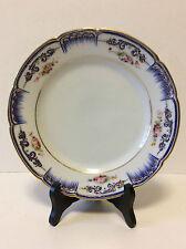 Assiette porcelaine de Paris superbe style Louis XV rocaille Louis-Philippe 1840