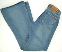 Paris Blues Originals Juniors Flare Leg Bell Bottom Blue Jeans, 100% Cotton 3