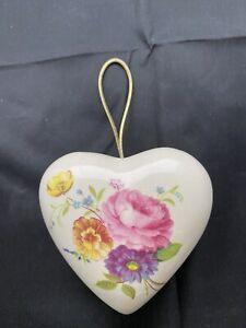 Vintage Pot Pourri Pomander by Lownds Bateman Gorgeous Heart Potpourri
