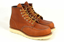 Red Wing Shoes 875, Moc Toe Boots, Oro Legacy, Braun, Leder, Neu