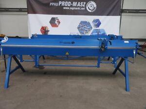 ABKANTBANK 3 meter + Rollenschere KANTBANK ABKANTMASCHINE Biegemaschine VIDEO