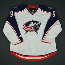 2016-17 Gregory Campbell Columbus Blue Jackets Game Issued Hockey Jersey MeiGray
