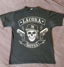 La Coka Nostra NY Skull T Shirt - Black - Medium Hardcore Rap Hip-Hop Merch