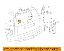 GM OEM Wiper-Rear Window Motor 25923437