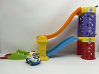 VTech Go Go Smart Wheels 3-in-1 Launch & Play Race track 3 cars light up sounds