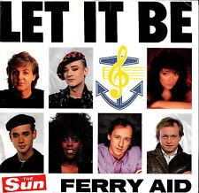 "FERRY AID ""LET IT BE/(Gospel Jam)"" PROFILE 5147 (1987) 45rpm & PS PAUL McCARTNEY"