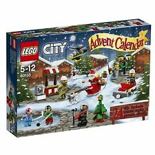 LEGO 60133 CITY ADVENT CALENDAR CHRISTMAS 2016 * NEW * IN GOOD SEALED BOX RETIRE