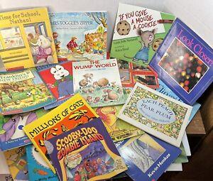 Scholastic 35 Picture Paperback Books Children Toddlers Preschool Homeschool