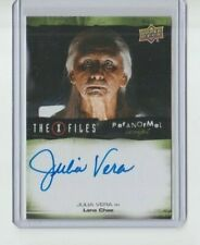 X-Files UFOs and Alien Edition Paranormal  Autograph Trading Card Julia Vera