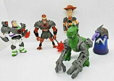 Rare Toy Story That Time Forgot Lot Cleric Buzz Reptillus Maximus Woody Rex 2014