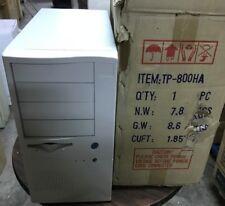 AT ATX Computer Case Enclosure Build Vintage 386 486 Pentium w/power UNIQUE 800h