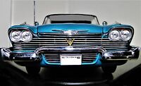 Car 1 Dodge Plymouth Chrysler 1956 18  Vintage 24 300b 12 Carousel Blue 43