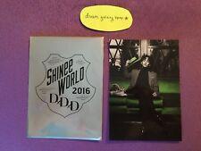 SHINee World 2016 DxDxD Japan Tour KEY Official Photo Print Taemin Jonghyun Onew