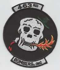 "HMH-463 ""BOMBERS, INC"" HERITAGE  patch"