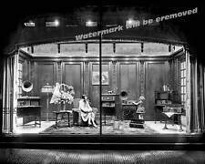 Photograph of Atwater Kent Radio Equipment Window Display  Year 1928 11x14