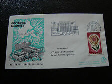 FRANCE - enveloppe 19/10/1964 (parlement europeen) (cy19) french
