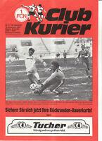 BL 85/86 1. FC Nürnberg - Eintracht Frankfurt