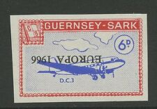 Guernsey SARK 1966 Europa 6d PROOF INVERTED ovp error