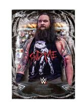 WWE Bray Wyatt #71 2015 Topps Undisputed Black Parallel Card SN 65 of 99