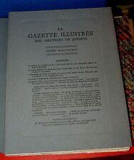 La Gazette illustrée des amateurs de jardins. Années MCMLV - MCMLVI