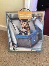 Kurgo Dog Booster Seat Rover Car Adjustable Collapsible Pocket Storage Fabric