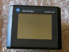 ALLEN BRADLEY 2711-T6C20L1/B/F PANELVIEW 600 COLOR Touch, LNC Great Used Tested