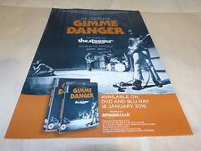 IGGY POP & THE STOOGES - Publicité de magazine / Advert GIMME DANEGR !!!
